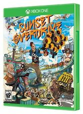 SUNSET OVERDRIVE BRAND NEW XBOX ONE GAME