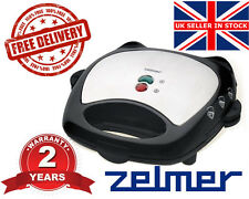 #! NEW Electric Kitchen ZELMER (BOSCH) 26Z012 700W SANDWICH TOASTER NON STICK !#