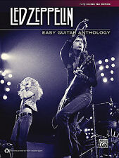LED ZEPPELIN EASY GUITAR ANTHOLOGY TAB SONG BOOK NEW