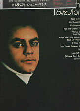 JOHNNY MATHIS- VINYLES MADE IN JAPAN- QUADRAPHONIC- LOVE STORY- OBI UN PEO CUPE