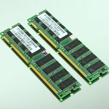 1GB 2x512MB PC133 133MHZ SDRAM 168PIN Low-Density MEMORY RAM Non-ECC Memory