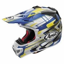 Arai VX PRO 4 Tip Blue Yellow FREE ship option motorcycle helmet YAMAHA S Md Lg