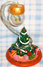 New Disney Peter Pan's Tinkerbell Christmas Ornament & Stand