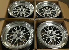 """18"""" ESR SR1 Wheels For 350Z 370Z Genesis 18 X 9.5 +22 / 18 X 10.5 +22 Rims Set 4"""