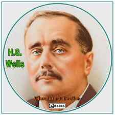 H.G. Wells - Classic Literature Collection - 105 eBooks on CD