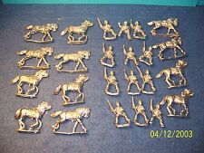 WARGAMES FOUNDRY  BRITISH COLONIAL CAVALRY  10 FIGS