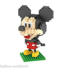 LOZ Mickey Diamond Nano Building Blocks Bricks Action mini Figures Toys New