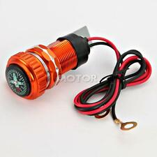 Motorcycle Cellphone USB Charger W/ Compass For Honda VTX 1800 TYPE C R S N F T