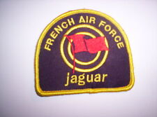Piloten Aufnäher French Air Force  Jaguar  ca  9 x 7,5 cm mit  Klett