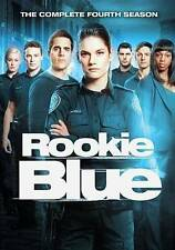 Rookie Blue: The Complete Fourth Season (DVD, 2014, 4-Disc Set)