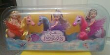 New Barbie Magic of Pegasus Kelly dolls with pony Set of 3!!