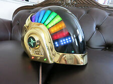 Daft Punk Helmet Guy Man Discovery Era, with LEDs, Chromed, Halloween Costume