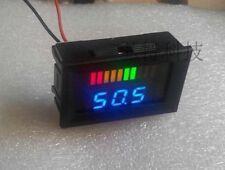 12v Acid lead batteries indicator Battery capacity LED Tester volt meter UPS car
