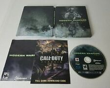 Call of Duty Modern Warfare 2 Steelbook for PS3 from hardened edtiion - Tested