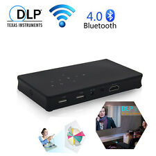 Mini Pocket DLP WIFI LED Projector HD 1080P HDMI Multimedia Home Theater Cinema
