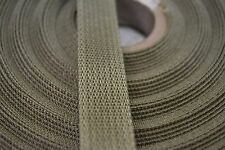 "COYOTE TAN MILITARY WEBBING 3/4"" WIDE NYLON MIL-SPEC W-43668 T/4  76 YARDS"