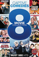 Captive Comedies: 8 Movie Collection (DVD, 2013, 2-Disc Set) Brand New