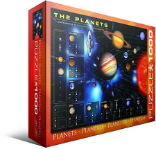 The Planets 1000 Piece Jigsaw Puzzle by Eurographics Solar System Astronomy Toys