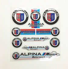 Decal Sticker Interior&Exterior Badge Emblem Alpina E30 E21 E36