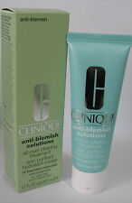 CLINIQUE ANTI-BLEMISH SOLUTIONS CLEARING MOISTURUZER - OIL FREE - F/S 1.7oz NIB