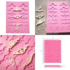 Classical Lace Flower Silicone Fondant Mold Mould Cake Candy Decorating Supplies