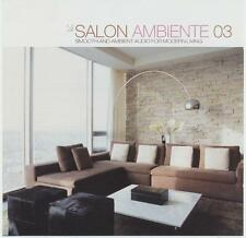 SALON AMBIENTE 3 = Superlounger/Rivera/Tactful/Sushi..=2CD= LOUNGE+CHILL+DELUXE!