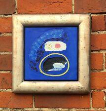 """Alistair Grant (1925-1997) """"Blue, Blue, Blue"""" acrylic on canvas c1990"""