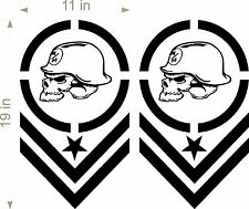 Metal Mulisha / PAIR / trucks / Supercross / Motorcross / vehicle decals