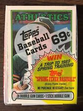 1988 TOPPS Cello Pack JOSE CANSECO  Card on  (TOP) G7105219