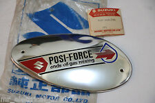 Genuine Suzuki Moped K40 U50 U70 Fuel Tank Emblem Nos