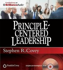 Principle-Centered Leadership by Stephen R. Covey (2012, CD, Unabridged)