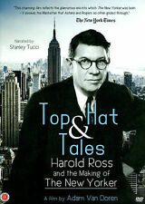 Top Hat and Tales: Harold Ross and the Making of the New Yorker (DVD, 2014)