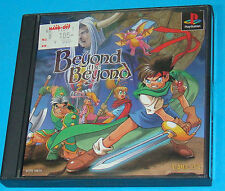 Beyond the Beyond - Sony Playstation - PS1 PSX - JAP Japan