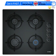 Zelmer ZEC 26G4371 Build In Black Glass Kitchen Gas Hob Brand New!!!