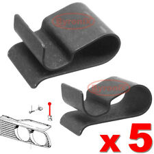 Bmw E30 Parrilla Frontal Trim Clips abrazaderas de resorte de metal clip Faros Trim