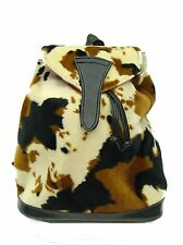 BACKPACK  STYLE WITH ANIMAL PRINT COW WESTERN PATTERN,  NEW, RARE
