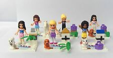 Lot of  6 sets Friends (J) girl Minifigures building fit toys lego new in bags