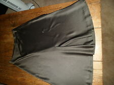 ********Stunning DONNA KARAN Signature  Kharki Flippy Skirt  UK 14*********