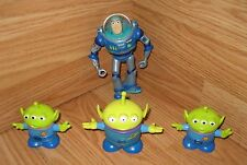 LOT OF 4 Small Disney Toy Story Toys: Buzz Lightyear & 3 Aliens Only *READ*