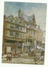 Dutch Houses, Bridge Street, Chester postcard
