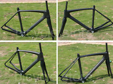 F906 Full Carbon Matt Black 700C Cycling Road Bike Bicycle Frame 51cm And Fork