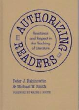 Authorizing Readers: Resistance and Respect in the Teaching of Literature (Langu
