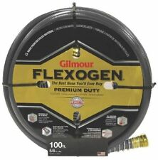 NEW GILMOUR 10058100 GRAY GARDEN WATER HOSE GILMOUR FLEXOGEN 5/8'' X 100 FOOT