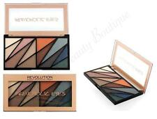 MAKEUP REVOLUTION Revoholic Eye EYESHADOW COLOUR PALETTE Brown NEUTRAL Blue NUDE