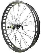 "Alex Blizzerk 80 26"" Fat Bike REAR Wheel 170mm 10qr Sealed Novatec Hub"