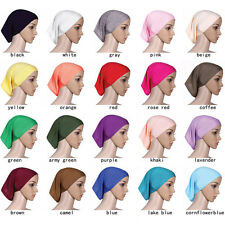 12PCS ISLAMIC MUSLIM WOMEN HEAD SCARF SOFT UNDERSCARF HIJAB COVER FASHION BONNET