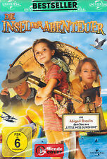 DVD NEU/OVP - Die Insel der Abenteuer - Abigail Breslin & Jodie Foster
