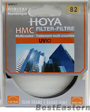 HOYA  82mm Slim HMC UV(C) Multi-Coated New lens Filter 82 mm