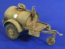 "Verlinden 1/35 US Army 250 gallon G-527 Water Tank Trailer ""Ben Hur"" WWII 2825"