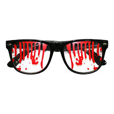 Halloween Blood Stained Monster Zombie Vampire Fancy Dress Glasses